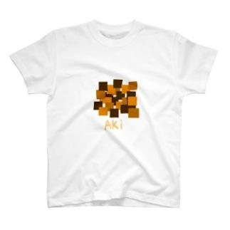 秋色Tシャツ T-shirts