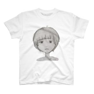 ぼーっとしてる女の子っ☆ T-shirts