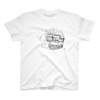 西岡弘治×ASITA_PRODCTS T-Shirt