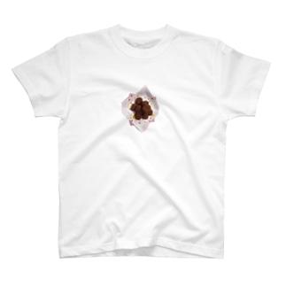 夏輝カンナのチョコレート T-shirts