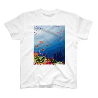 人魚姫の世界 T-shirts