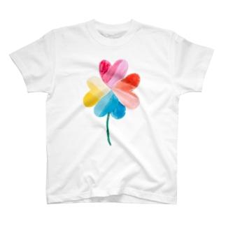 ハートのクローバー T-Shirt