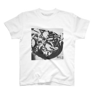 北陸からやってきた香箱ガニTシャツ T-shirts