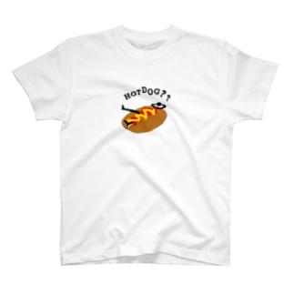 HOTDOG??(汚いversion) T-shirts