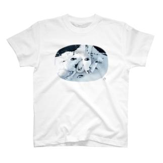 """sonsen gocha bacco×大瀧 卓弥×Gaku×ASITA_PRODUCTS """"女体さん"""" T-shirts"""