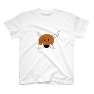 元祖旅犬Tシャツ T-shirts