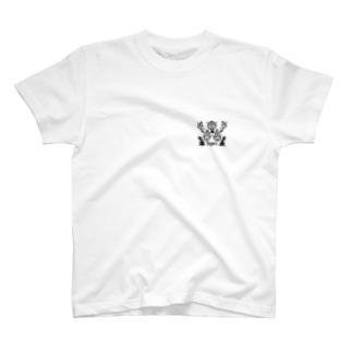 オオカミトライバル T-shirts