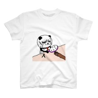 パンダくんTシャツ T-shirts