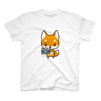 コンちゃん Tシャツ