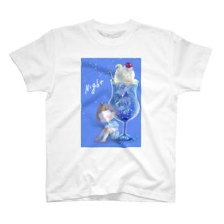 夜空のクリームソーダ T-shirts