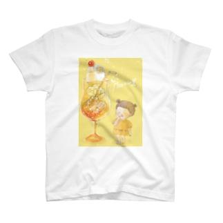 朝焼けクリームソーダ T-shirts