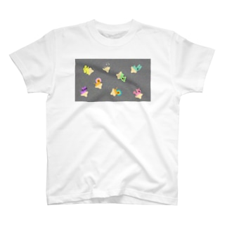 ゆるあしゆびふれんずノイズ T-shirts