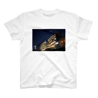 かもがわナイト(Half Moon) T-shirts
