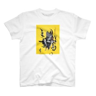 河崎ヒデオス×ASITA_PRODUCTS T-shirts