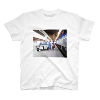 アメリカ:鉄道作業員 U.S.A.: Platform crews T-shirts