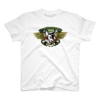 限定Ndaskateyo×RISK pplogo SP Print T-shirts