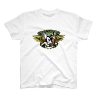 Sk8ersLoungeの限定Ndaskateyo×RISK pplogo SP Print T-shirts