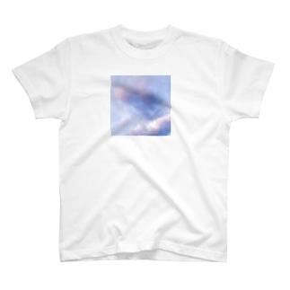むらさきの雲スクエア T-shirts