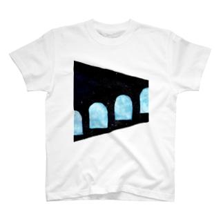 【uka】星歌う窓辺 T-shirts