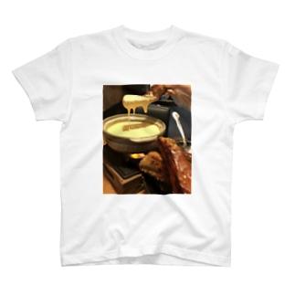 チーズ温泉 T-shirts