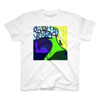 水牛とアカハシウシツツキ T-shirts