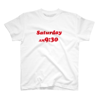 saturday AM9:30 T-shirts