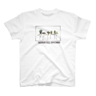 冬のはたけ T-shirts