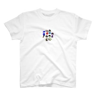 仲良し6にんぐみ T-shirts