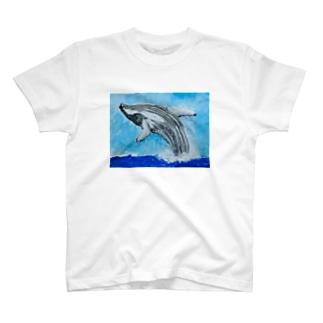 白鯨 白Tシャツ T-shirts