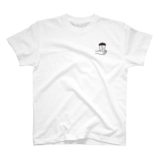 よるコーヒーT2S T-shirts