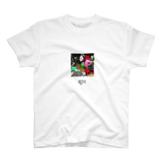 カンボジア文字付き市場フォトT T-shirts