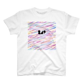 流星(黒) T-shirts