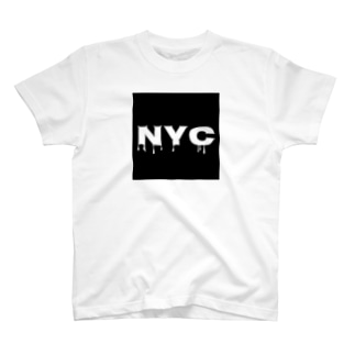 NYC melting T-shirts