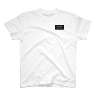 NO CATS NO LIFE. T-Shirt