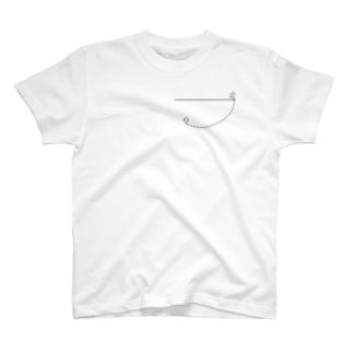 線次郎と点二郎 T-shirts