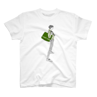"""中村香月の""""Green"""" いけめんファッショニスタ T-shirts"""