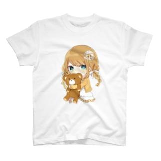 Tシャツ(しろこver.) T-shirts