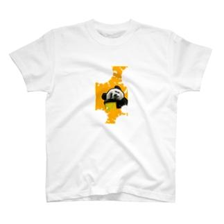 ダラダラパンダくんTシャツ T-shirts
