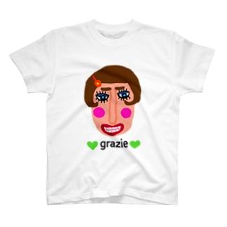 グラッチェ♡ T-shirts