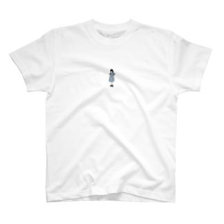 A moody girl  T-shirts