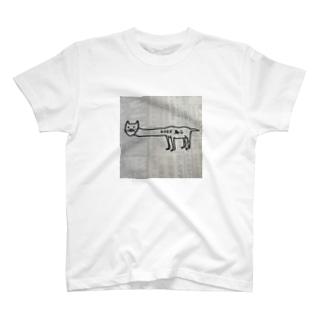 とことこネコ T-shirts