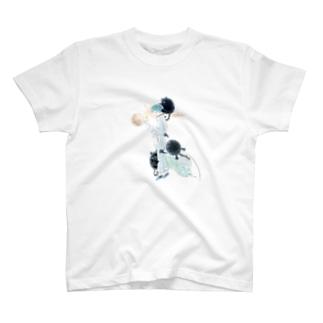 秋の月に恋をした T-shirts