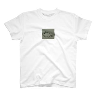でんきゅうカバ🦛 T-shirts
