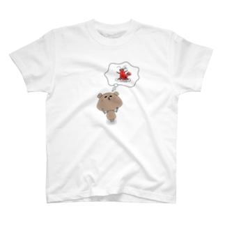 エビカム まくべぁー T-shirts