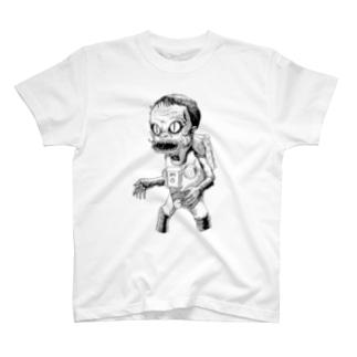 ヤノベケンジ《サン・チャイルド》(ゾンビ) Tシャツ
