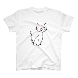 にゃーお T-shirts