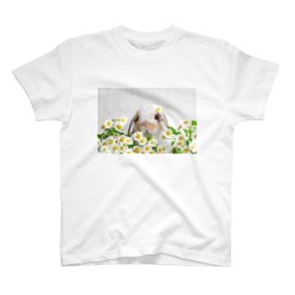 おはなとうさぎ T-shirts