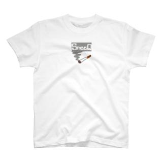 SneeQ【スネイク】たばこロゴTシャツ T-shirts