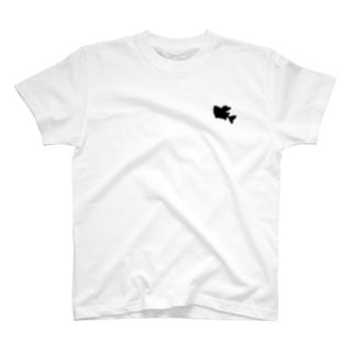オニボラちゃん(シルエット) T-shirts