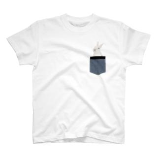 うさポケin弥兎 T-shirts